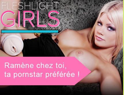 Tous les Masturbateurs Fleshlight Girls, les porn-stars pour LUI.