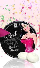 Bonbons Peppermint Nipples