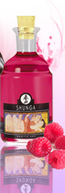 Huile Shunga Emotion de Framboise