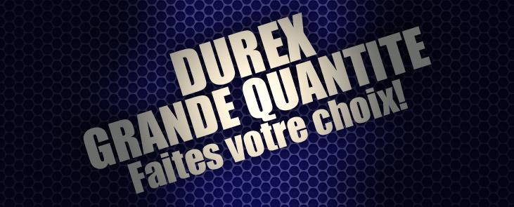 Durex-Grande Quantité
