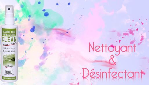 Clean Hot Bio - Désinfectant sextoys N°1