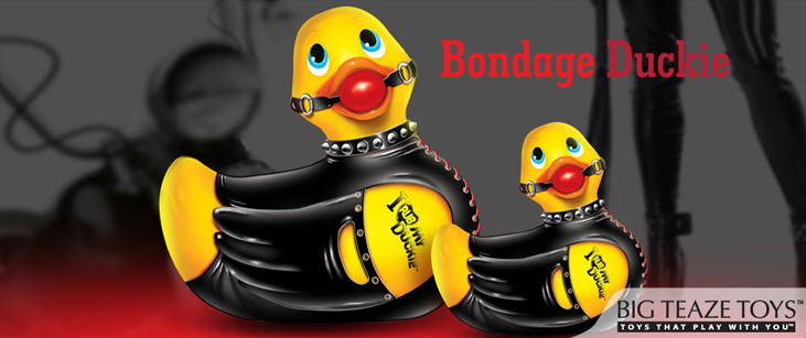 Canard vibrant Duckie Bondage