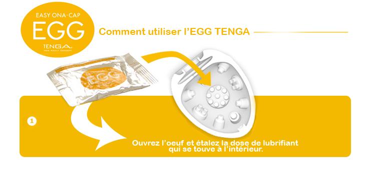 Masturbateur Tenga Egg