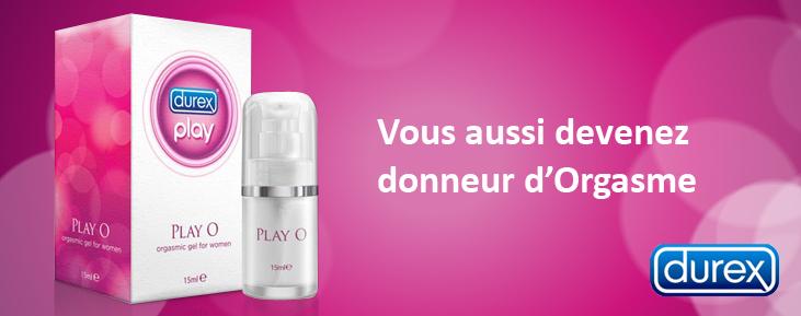 Play O - Gel lubrifiant stimulant pour femme