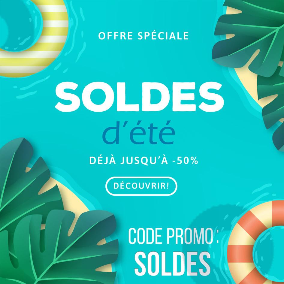 Soldes d'été - Des centaines de sextoys pas cher avec le code SOLDES