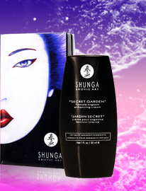 ''Jardin Secret'' Crème orgasmique Shunga