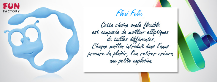 Boules Anales Flexi Felix Fun Factory Bleu Ciel